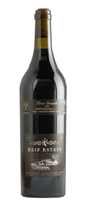 Reif Estate Winery 2002 First Growth Cabernet Sauvignon  (Niagara River)