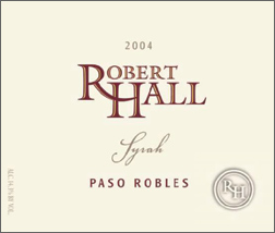 Wine:Robert Hall Winery 2004 Syrah  (Paso Robles)