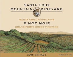 Santa Cruz Mountain Vineyard 2005 Pinot Noir, Branciforte Creek (Santa Cruz Mountains)