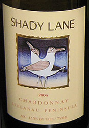 Shady Lane Cellars Chardonnay