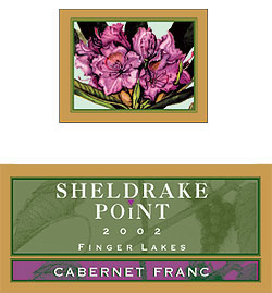 Sheldrake Point 2002 Cabernet Franc