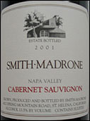Smith Madrone Spring Mountain Cabernet 2001