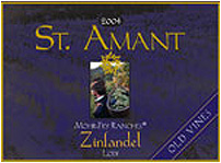 St. Amant Winery Zinfandel Mohr-Fry