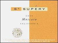 St. Supery Vineyards 2005 Moscato  (California)