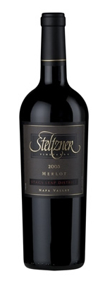 Wine:Steltzner Vineyards 2003 Merlot, Estate (Stags Leap District)