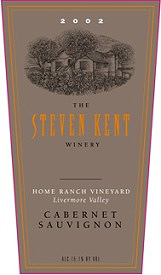 Steven Kent 2002 Cabernet Sauvignon, Home Ranch Vineyard (Livermore Valley)