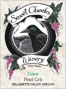 Sweet Cheeks Winery 2007 Reserve Pinot Gris  (Willamette Valley)