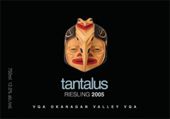 Tantalus Vineyards 2005 Riesling  (Okanagan Valley)