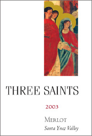 Three Saints 2003 Merlot