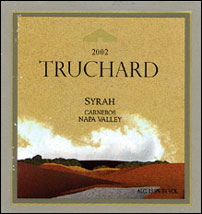 Truchard Vineyards 2002 Syrah  (Carneros ~ Los Carneros)