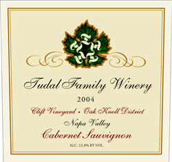 Tudal Winery 2004 Cabernet Sauvignon , Clift Vineyard (Napa Valley)