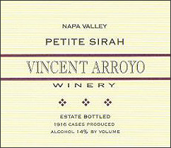 Vincent Arroyo 2004 Petite Sirah  (Napa Valley)