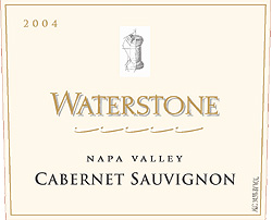 Waterstone Winery 2004 Cabernet Sauvignon  (Napa Valley)