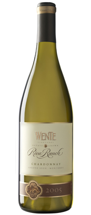 Wine:Wente Vineyards 2005 Chardonnay Reserve, Riva Ranch (Arroyo Seco)