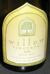 Willow Vineyard Pinot Gris