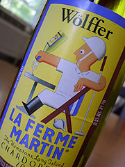 Wolffer Estate Vineyard 2004 La Ferme Martin Chardonnay  (Hamptons Long Island)