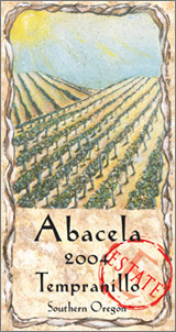 Wine:Abacela Vineyards and Winery 2004 Tempranillo