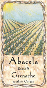 Wine:Abacela Vineyards and Winery 2005 Grenache, Estate Grown (Southern Oregon)