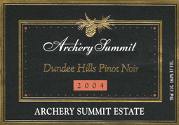 Wine:Archery Summit 2004 Pinot Noir, Archery Summit Estate (Dundee Hills)