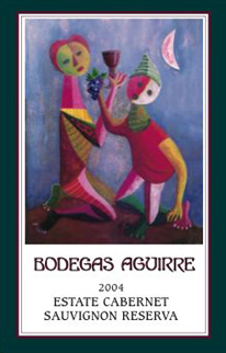 Bodegas Aguirre Winery and Vineyards 2004 Cabernet Sauvignon, Estate (Livermore Valley)