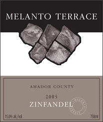 Burford and Brown Wines 2005 Zinfandel, Melanto Terrace (Amador County)