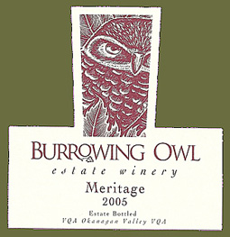 Burrowing Owl Vineyards 2005 Meritage  (Okanagan Valley)
