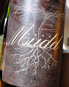 Wine:Channing Daughters Winery 2004 Mudd  (Hamptons Long Island)