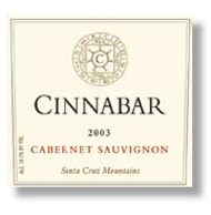 Wine:Cinnabar Vineyard and Winery 2003 Cabernet Sauvignon  (Santa Cruz Mountains)