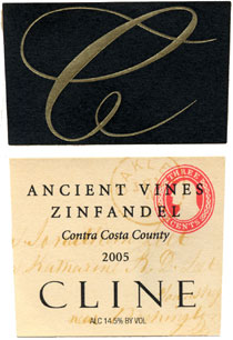 Cline Cellars 2005 Ancient Vines Zinfandel  (Contra Costa County)