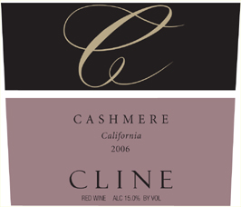 Wine:Cline Cellars 2006 Cashmere  (California)