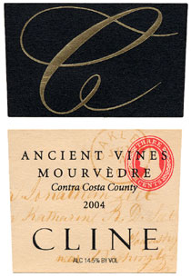 Cline Cellars 2004 Ancient Vines Mourvedre  (Contra Costa County)