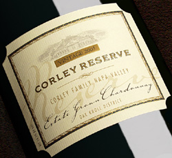 Wine:Monticello Vineyards|Corley Family Napa Valley 2005 Chardonnay - Corley Reserve, Estate (Oak Knoll District of Napa Valley)