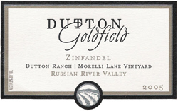 Wine:Dutton-Goldfield Winery 2005 Zinfandel, Dutton Ranch - Morelli Lane Vineyard (Russian River Valley)