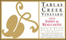 Tablas Creek Esprit de Beaucastel