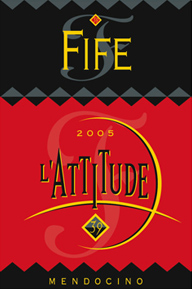Fife Vineyards 2005 L Attitude 39  (Mendocino)