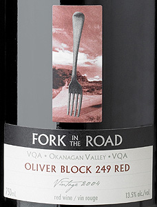 Fork In The Road Vineyards 2005 Oliver Block 249 Red  (Okanagan Valley)