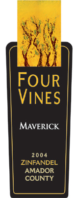 Wine:Four Vines Winery 2004