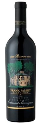 Wine:Frank Family Vineyards 2003 Cabernet Sauvignon Reserve  (Rutherford)