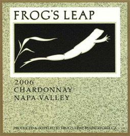 Frog's Leap 2006 Chardonnay  (Napa Valley)