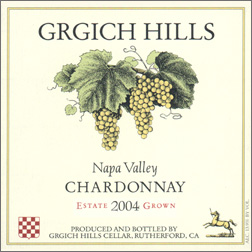 Wine: Grgich Hills Cellar 2004 Chardonnay, Estate (Napa Valley)