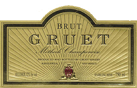 Gruet Winery NV Methode Champenoise Brut  (New Mexico)