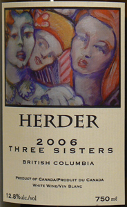 Herder Winery & Vineyards 2006 Three Sisters  (British Columbia)