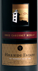 Hillside Estate Winery 2003 Cabernet Merlot  (Okanagan Valley)