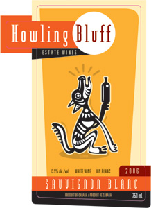 Howling Bluff Estate Wines 2006 Sauvignon Blanc, Summa Quies Vineyard (Okanagan Valley)