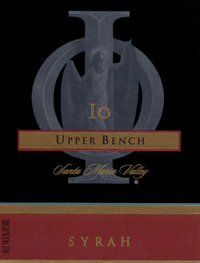 Wine:IO 2003 Syrah, Upper Bench (Santa Maria Valley)