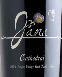 Wine:Jana Winery 2003 Cathedral  (Napa Valley)