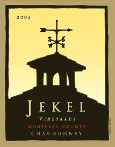 Wine:Jekel Vineyards 2005 Chardonnay  (Monterey County)