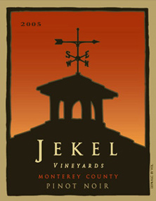 Wine:Jekel Vineyards 2005 Pinot Noir  (Monterey County)