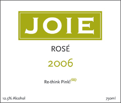 Wine:Joie Wines 2006 Rosé  (Okanagan Valley)