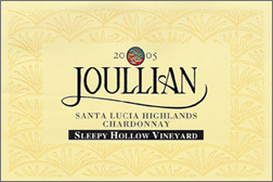 Wine:Joullian Vineyards 2005 Chardonnay, Sleepy Hollow Vineyard (Santa Lucia Highlands)